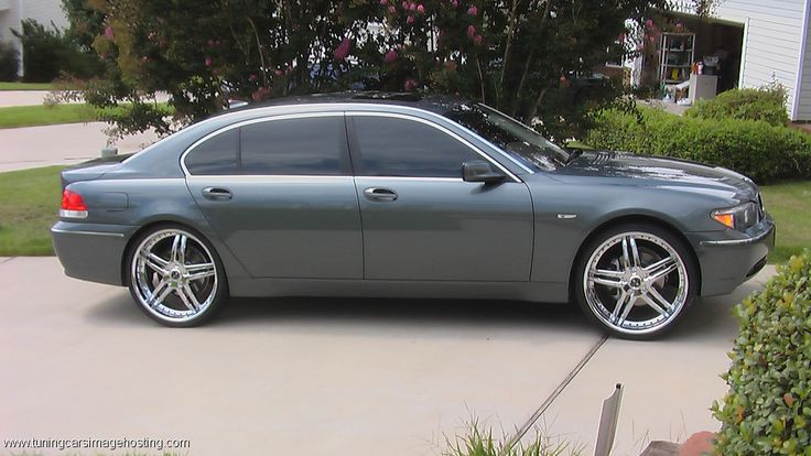 """BMW 745 On 24""""Rims Find the Classic Rims of Your Dreams - www.allcarwheels.com"""
