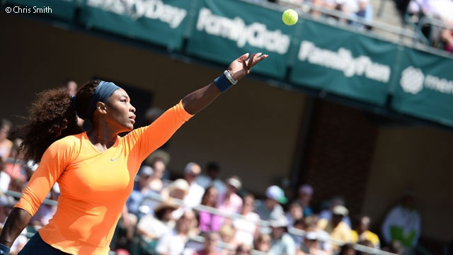 World #1 Serena is #QueenofCharleston & #AmericanTennis ----> MT @W I L L Voelker Ti Did You Know? @Serena Williams has now passed the great Pete Sampras as top American in prize money earnings. #WTA #tennis ---- Top American prize money winner of ALL-TIME, man or woman: 1. Serena Williams: $43,304,272 2. Pete Sampras: $43,280,489  3. Agassi   4. Venus Williams: $28,668,243.... #Annointed
