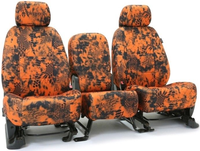 Kryptek camo seat covers!! Get them now at www.camomyride.com