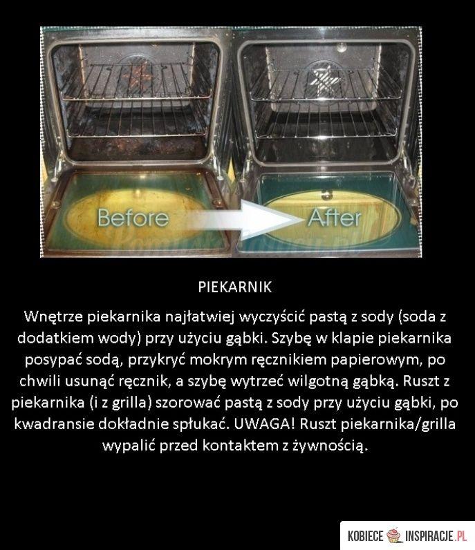 Jak wyczyścić piekarnik szybko i bez wysiłku! - Kobieceinspiracje.pl