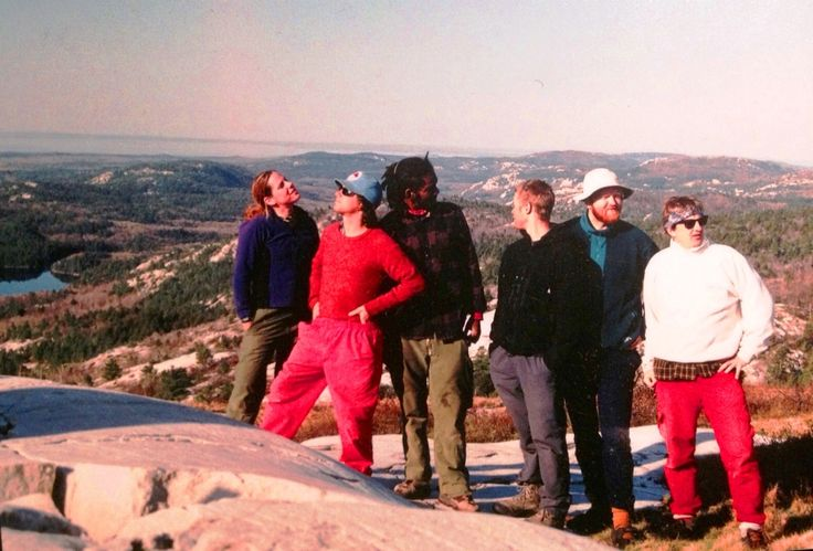 1998 Staff training in Killarney with Dustin, Graeme, Olivier. Greg P, Jenny and John
