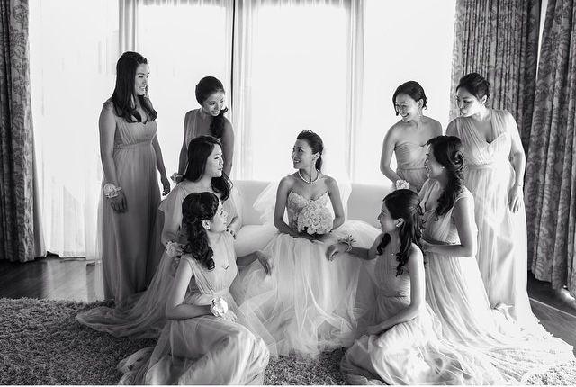 The gorgeous bride & bridesmaid.. #baliwedding #weddingphotography #photography #weddings