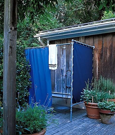 Top 25 best outdoor shower enclosure ideas on pinterest for 1 bathroom septic tank