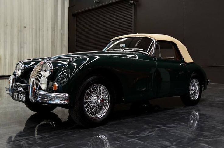 Dream car! 59 Jaguar XK150s