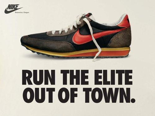 Nike running shoes ads