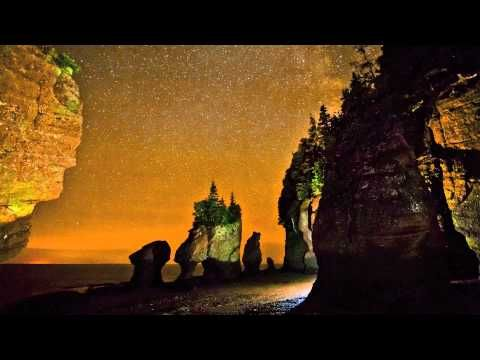 The Hopewell Rocks Timelapse Video // You've heard and read about the Bay of Fundy's highest tides in the world, but now you can see them with this amazing timelapse video captured by Kevin Snair at the Hopewell Rocks in New Brunswick.