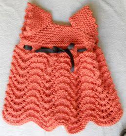 Suzies Stuff  BABY GIRLS PINAFORE Free knitting pattern