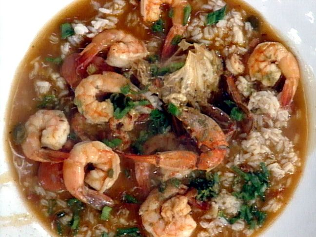Mr. John's Chorizo and Seafood Gumbo Recipe : Emeril Lagasse : Food Network - FoodNetwork.com