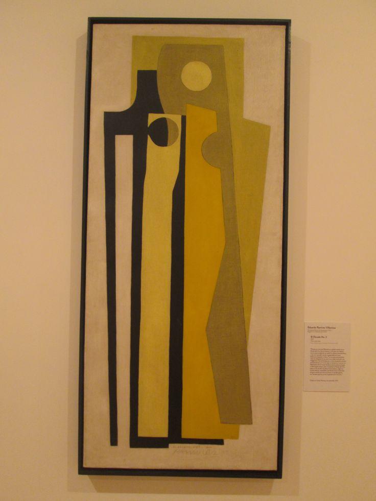 Eduardo Ramirez Villamizar Bogotá 2004  El dorado # 2  1957 Oleo sobre tela