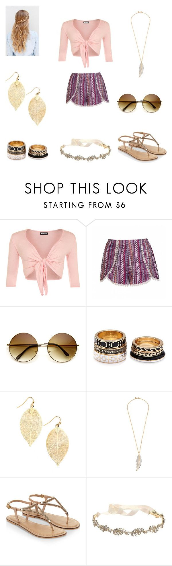 """""""Boho Chic"""" by designingisfun ❤ liked on Polyvore featuring WearAll, Ally Fashion, Forever 21, LeiVanKash, Accessorize and Marchesa"""