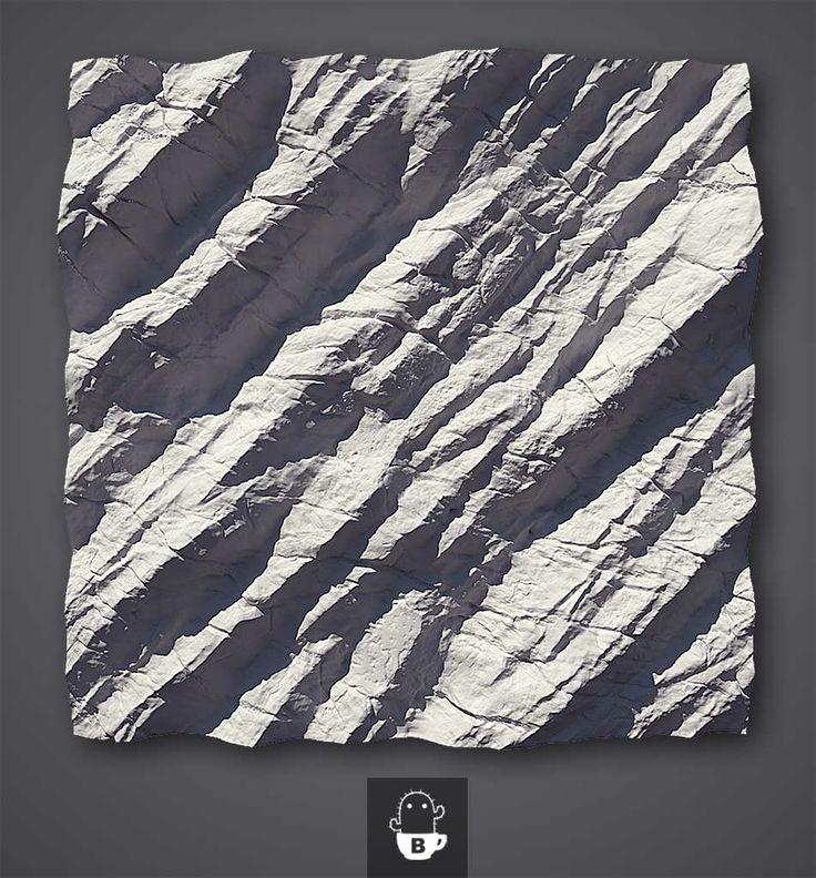 Unbelievable tiling rock texture!