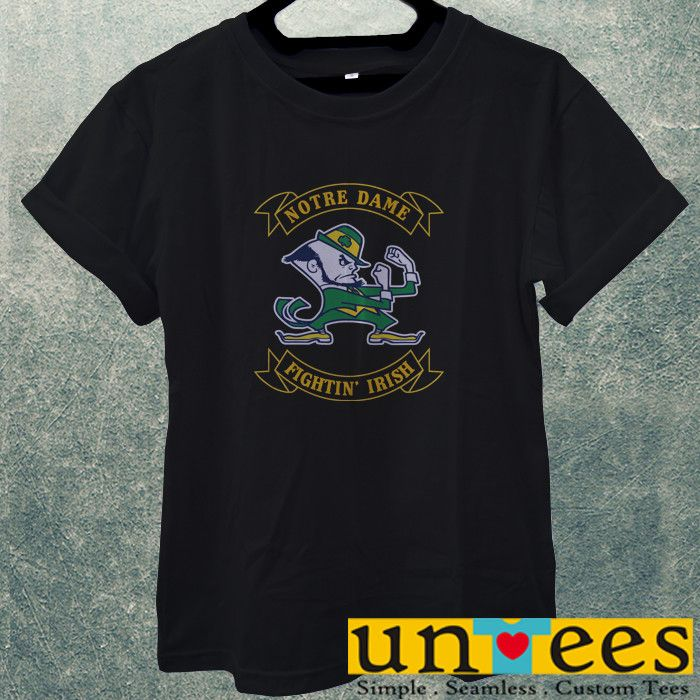 Low Price Men's Adult T-Shirt - Notre Dame Fighting Irish Design