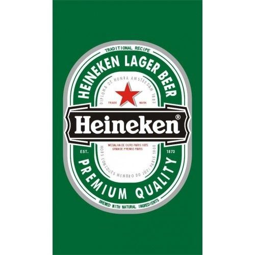 Heineken Verticle Flag