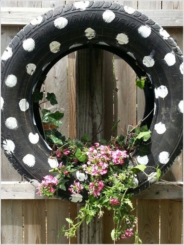 24 Cool DIY Ideas How To Reuse Old Tyres