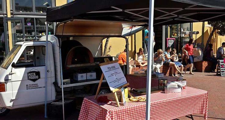 Pizza Piaggio food truck