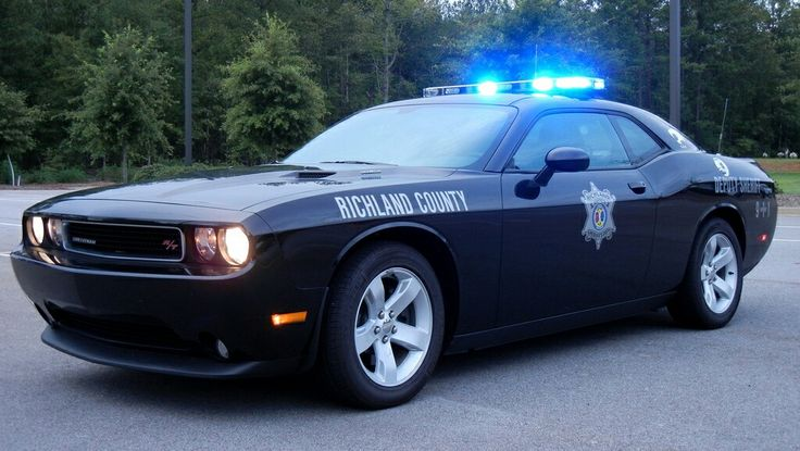 Richland County Sheriff Dodge Challenger Police Vehicles