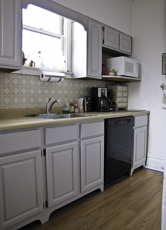 Hometalk :: How To Make Your Kitchen Cabinets Look Built In Using Scrap Wood Part 96