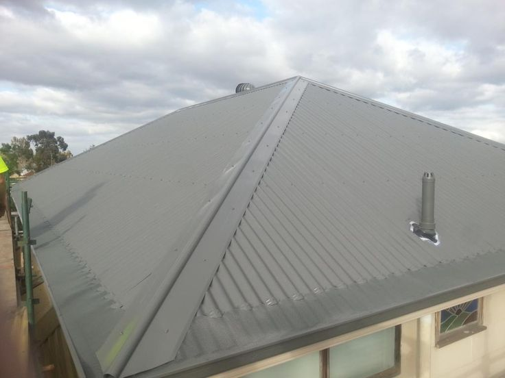 Gutter Guard and colorbond roof