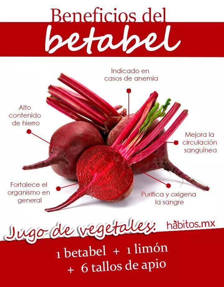 Jugo de betabel #habitosmx #hábitos #salud #health