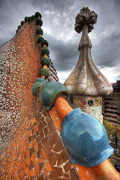 Casa Batlo - Gaudi, Barcelona.