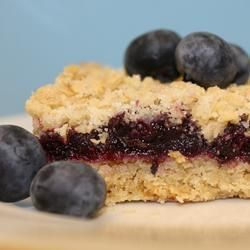 Blueberry crumb tray bake recipe - soo yummy and so simple! A fave in our house!