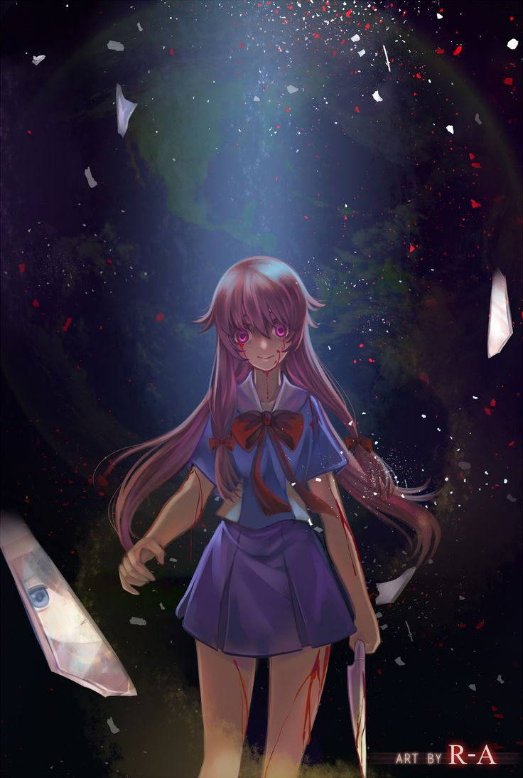 Gasai yuno iphone wallpaper tumblr - Mirai Nikki Yuno Gasai By