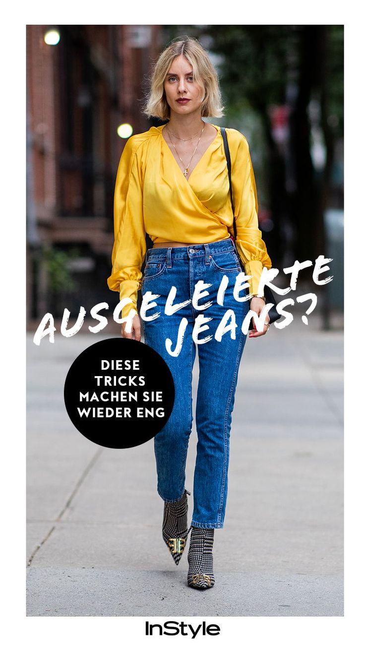 Mit diesen 5 Tricks wird deine ausgeleierte Jeans wieder eng