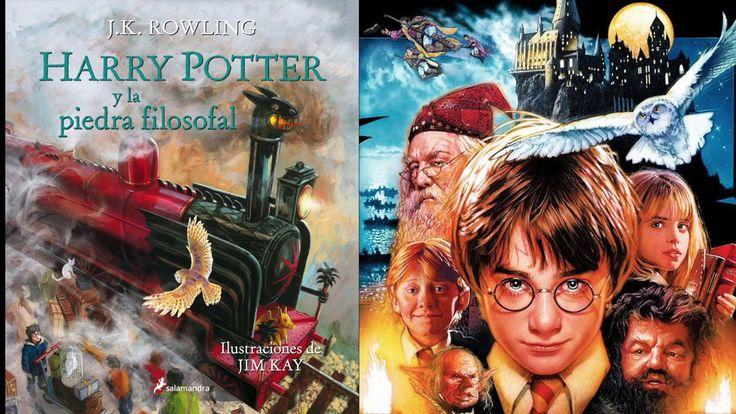 Diferencias entre libro y película. Harry Potter y la piedra filosofal.