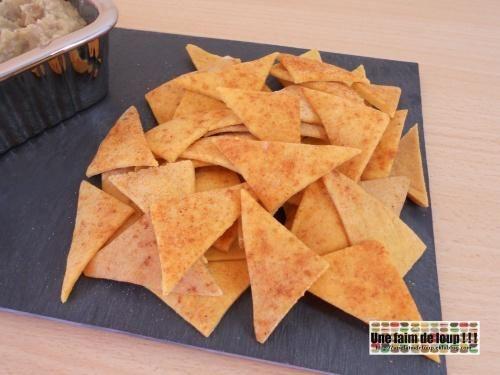 """750g vous propose la recette """"Tortillas chips"""" publiée par energie71."""