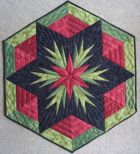 Three Mennonite Quilting Sisters: Cactus Rose