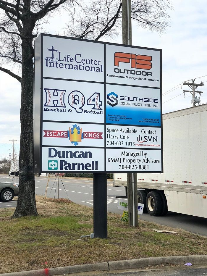 Pin On Exterior Signs Created And Installed By Jc Signs Charlotte