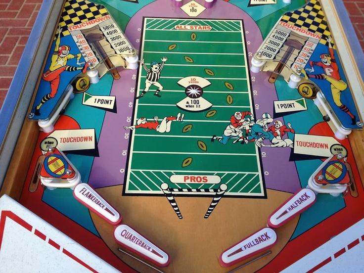 "Fully Restored 1973 Gottlieb ""Pro Football"" Pinball"