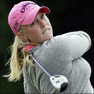 Morgan Pressel, Pro Golf Player (Boca Raton, Florida)