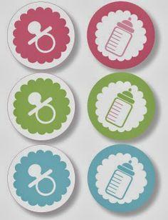 Baby Shower: tarjetas, imprimibles y etiquetas para imprimir gratis. Descárgalos con excelente calidad en la web.