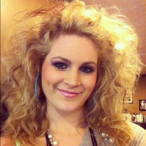 80s hair!! Renee's bachelorette