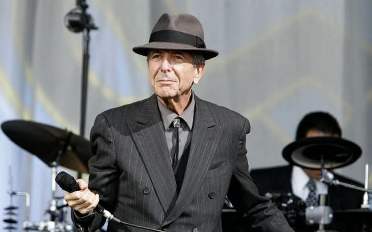 Leonard Cohen, 2008  The gravel-voiced 73-year-old songsmith's greatest hits set, performed with wonderful graciousness under a balmy Sunday evening sun – and including 'Hallelujah' with crowd-sung choruses – was sheer, unadulterated bliss.