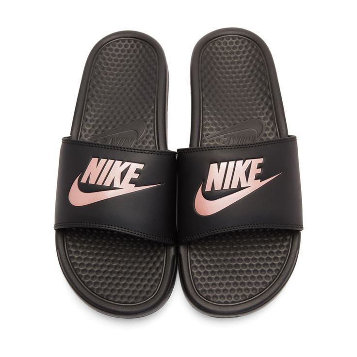 on sale c4fb3 48b4d Women's Benassi JDI Swoosh Slide Sandals from Finish Line ...