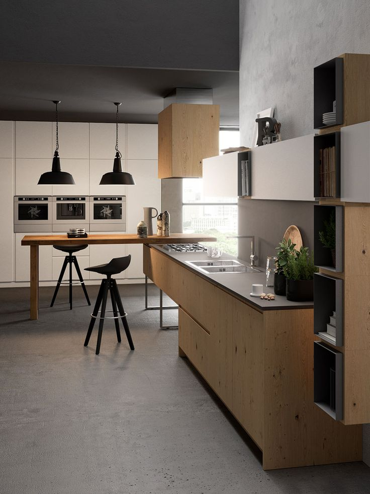 Oltre 25 fantastiche idee su cucine in rovere su pinterest - Cucine in rovere ...