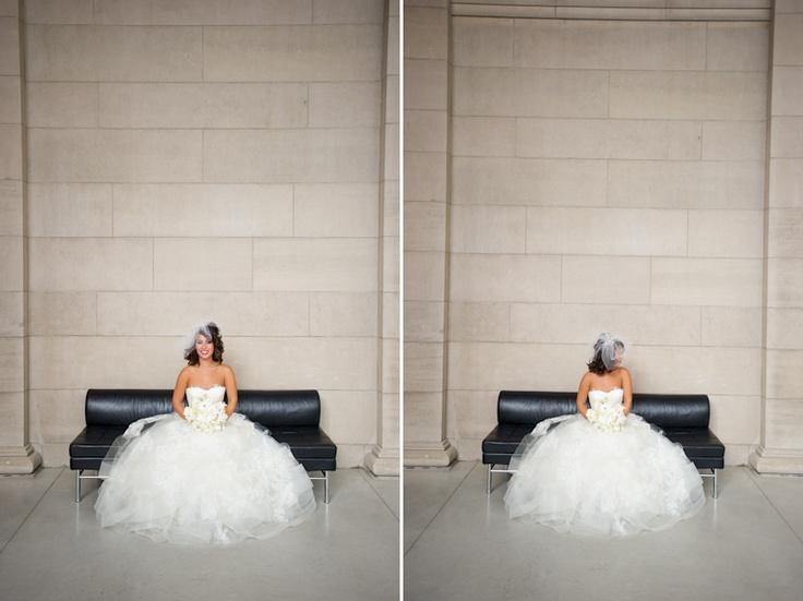 Art Gallery of Ontario bride