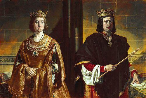 Isabel i de castilla y fernando ii de arag n los reyes - El rey del tresillo ...