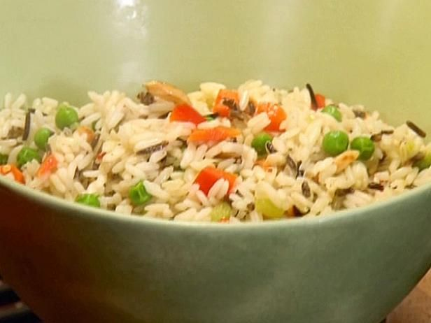Get Warm Wild Rice Salad Recipe from Food Network