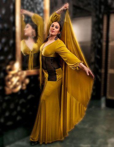 Greenish-Golden Dress - Rosalía Zahíno http://rosalia-zahino.myshopify.com/products/greenish-golden-dress