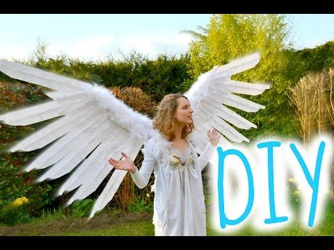 ○DIY○ Faire des ailes d'anges mobiles / How to create angel wings - YouTube