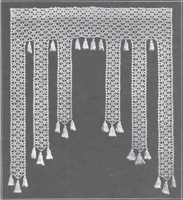 Curtains Ideas crochet curtain patterns valances : 17 Best ideas about Curtain Patterns on Pinterest | Art deco ...