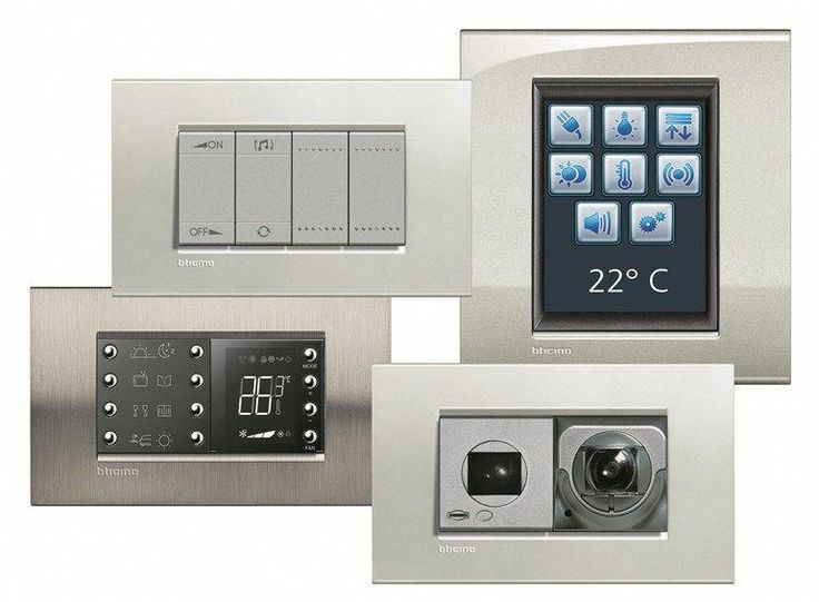 Home Automation System Myhome Home Automation System Bticino Homeautomation Home Automation System Home Automation Home Security
