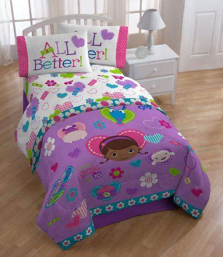 disney doc mcstuffins bedding and home decor idea