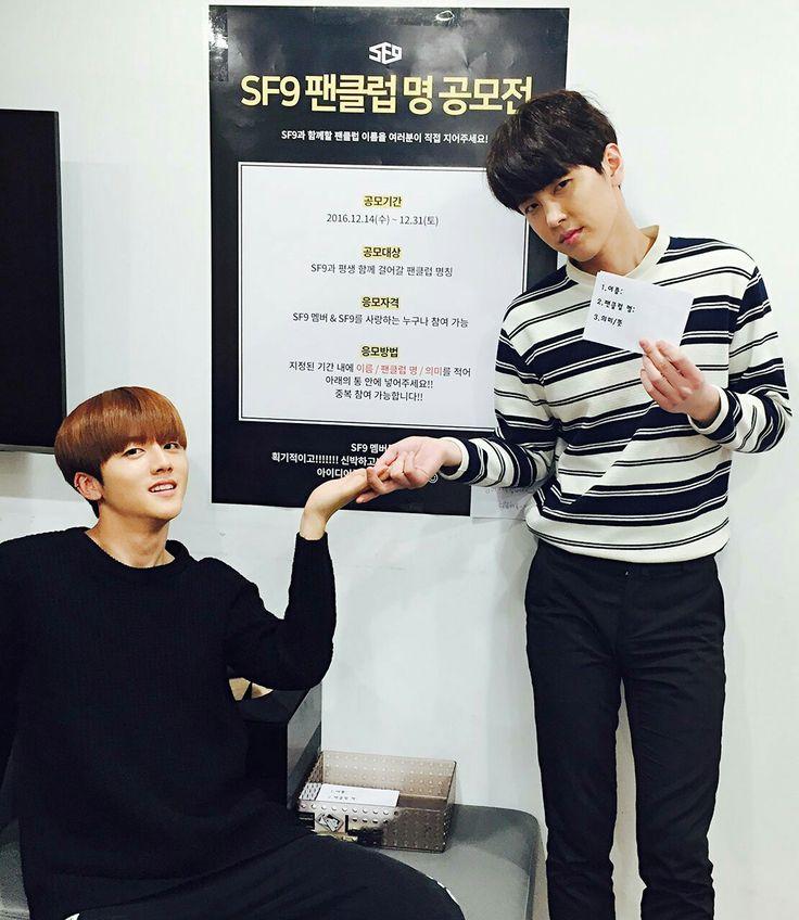 SF9 | Youngbin & Jaeyoon