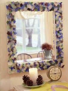 37 best images about diy sea glass crafts and projects on for Glass and mirror craft