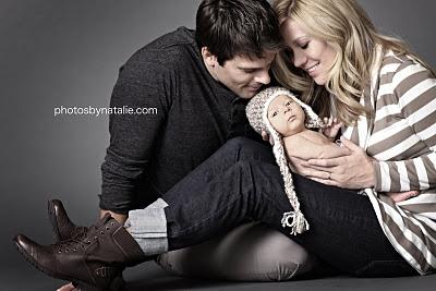 Nice family newborn pose