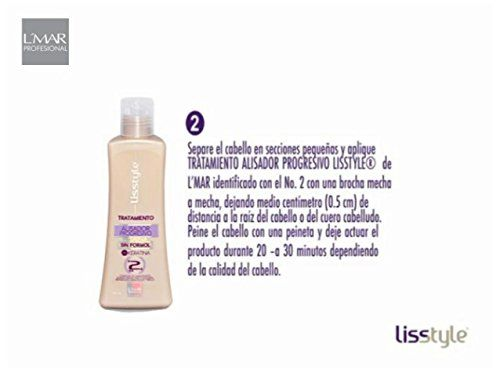 KERATIN TREATMENT FREE FORMOL LISSTYLE L´MAR 4 STEP Straightening treatment Blowout KIT No Formol with Carbocysteine No Smell, No Itching- STRAIGHTENS EXTREME CURLY HAIR STRONG HAIR RELAXER ** Click image to read more details. #hairmake